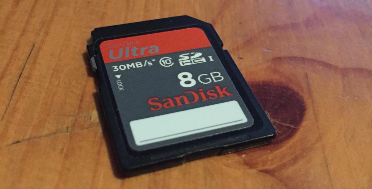 Utilisation d'une carte SD dans une machine virtuelle VMWare
